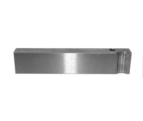 A-2 Hardened Tool Steel Back-up Rail for the Ammunition Reloading Industry