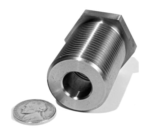 316 Stainless Steel Coupler for the Transportation Industry